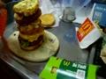 マクドナルドハンバーガー全種のせ!